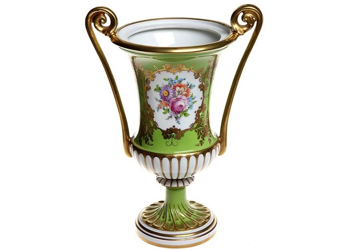 Фарфоровая ваза Дрезден