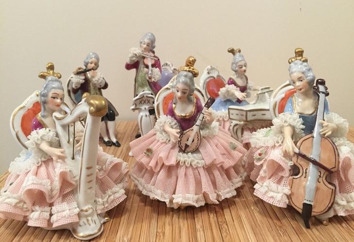 Статуэтки из фарфора Дрезден