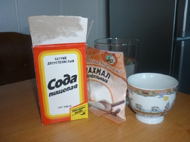 Ингредиенты для холодного фарфора