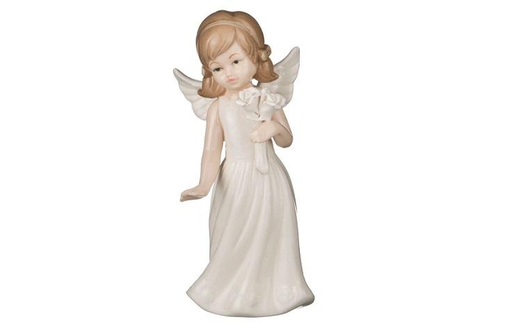 Авторские фигурки ангела из фарфора
