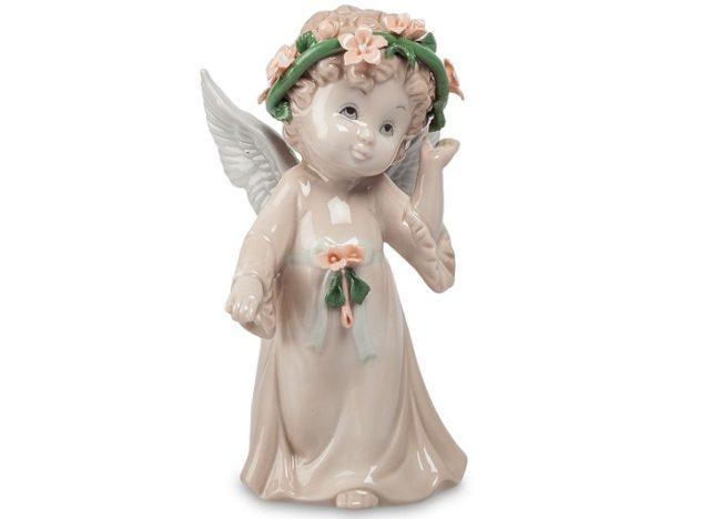 Фигурки ангелов из фарфора