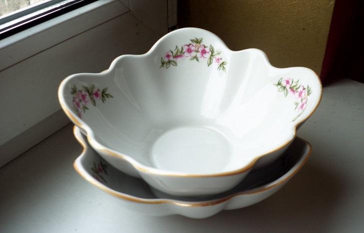 Фарфоровый тарелки Коростень