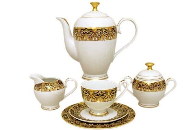 Китайские чайные сервизы из фарфора