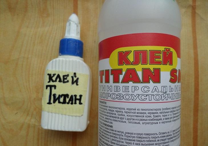 Клей Титан для фарфора