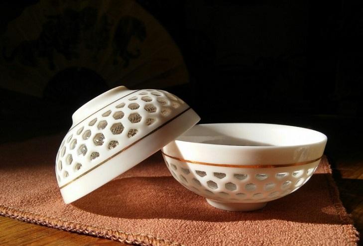 Китайский рисовый фарфор