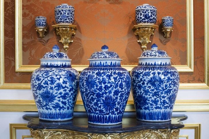 Коллекции фарфора в дрезденском музее