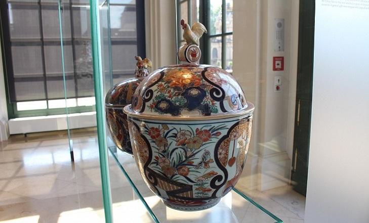 Фарфор в музее Дрездена
