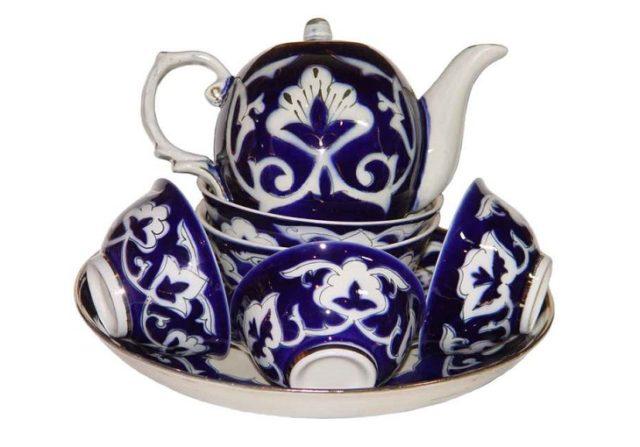 Узбекский фарфор