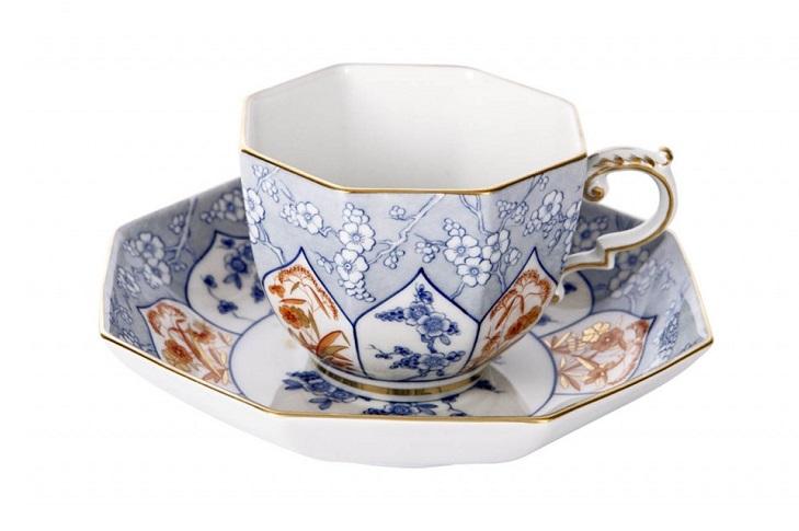 Качественные чайные пары из костяного фарфора