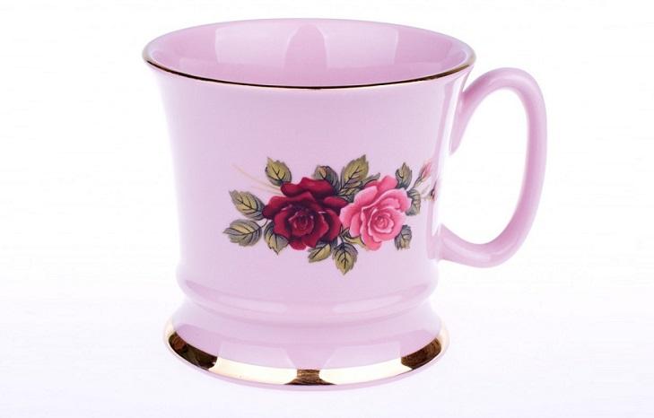 Розовый фарфор Богемия