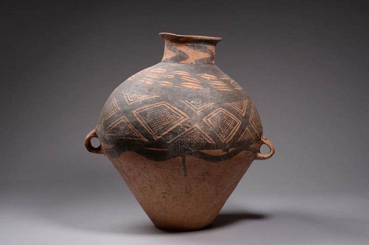 Первые китайские керамические сосуды