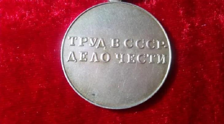 Дизайн медали «За трудовую доблесть»