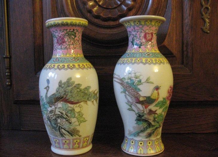 Китайские фарфоровые вазы