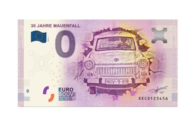 Банкнота 0 евро Германия