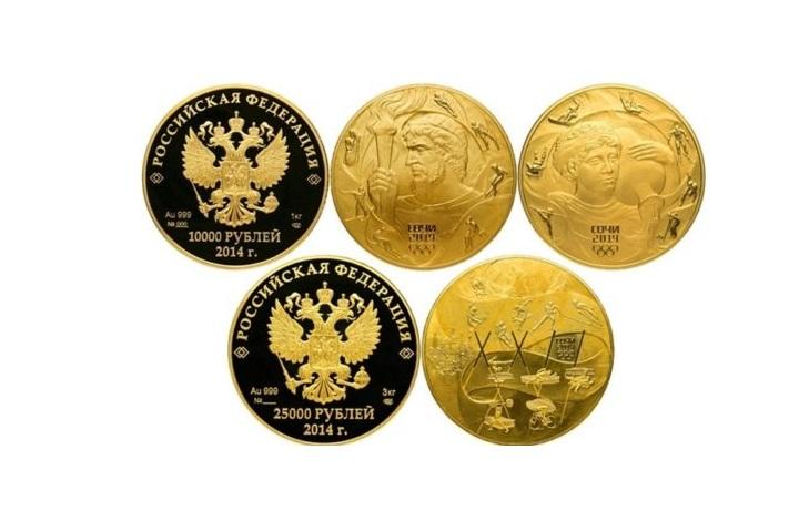 Инвестиционные и памятные монеты России