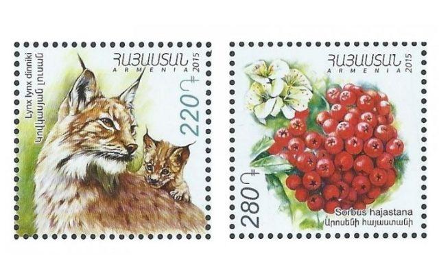 Марки почтовые «Флора и фауна»