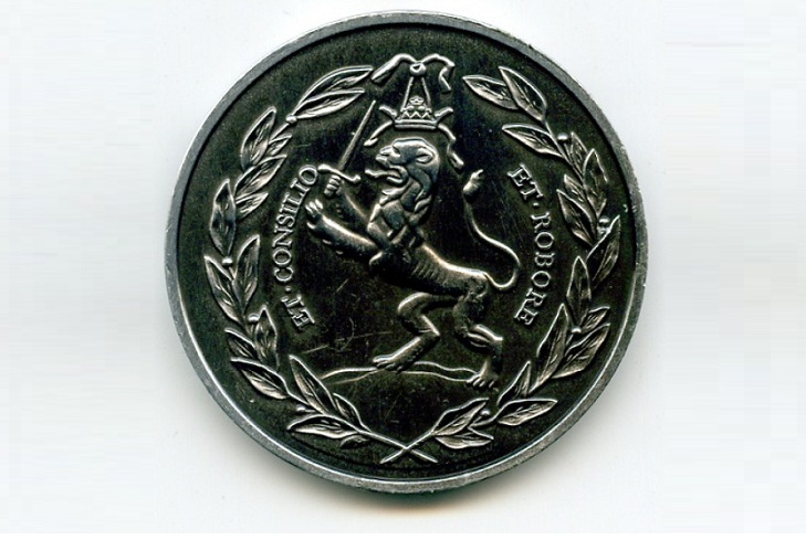 Медаль в память о первом заграничном путешествии Петра