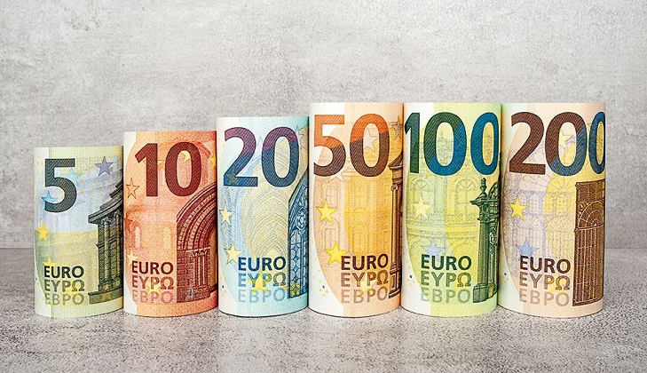 Дизайн номинала новых евро