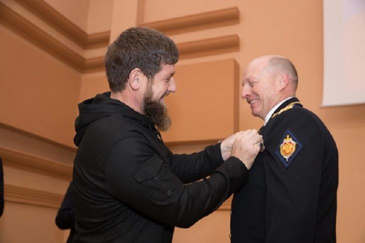 Вручение ордена имени Кадырова