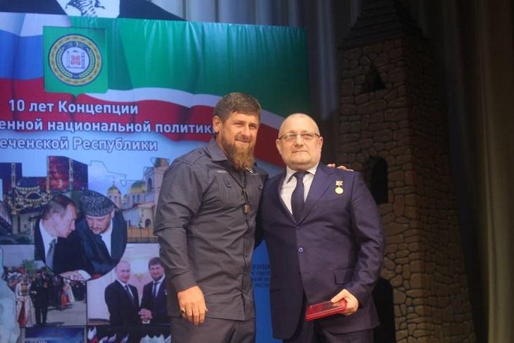 Кому вручали орден Кадырова