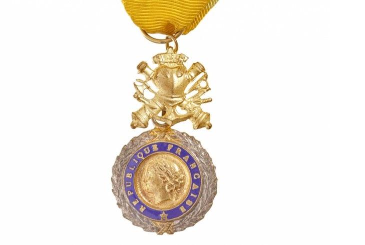 Военная медаль Франции
