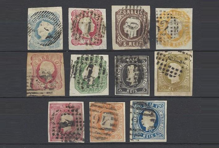 Почтовые марки Португалии 1853