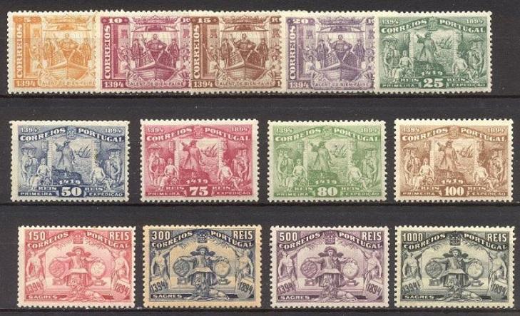 Почтовые марки Португалии 1894