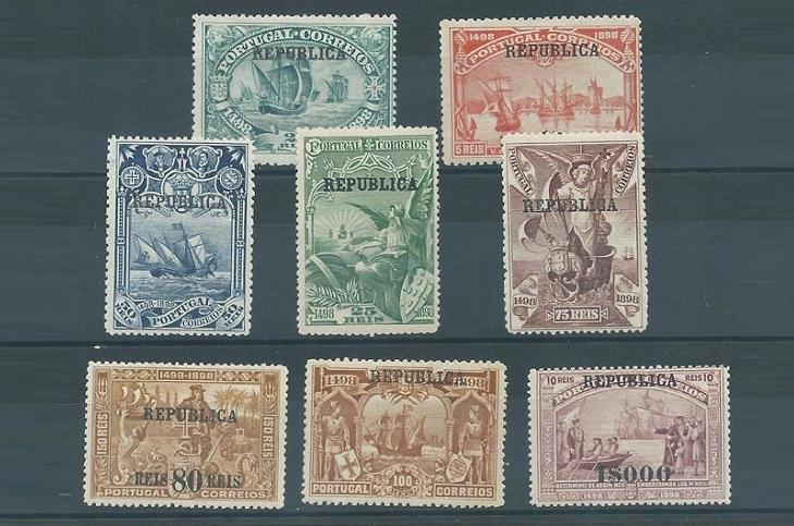 Почтовые марки Португалии колониальные