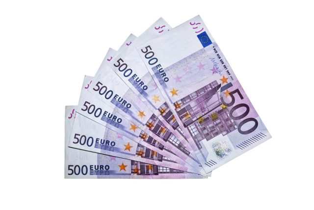 Банкноты 500 евро