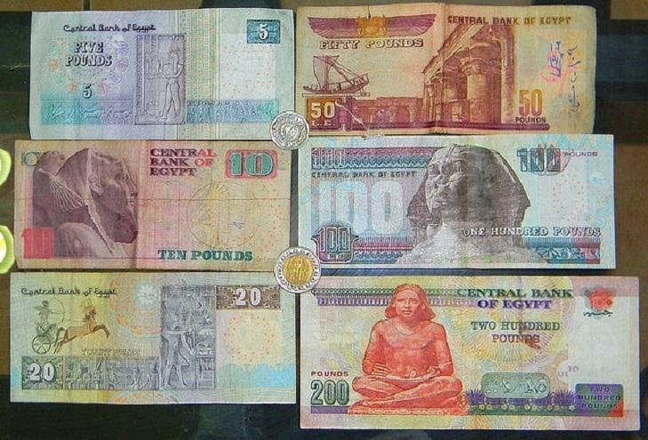 Дизайн египетских банкнот