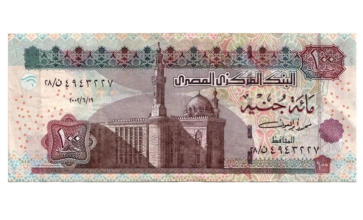 100 египетских фунтов