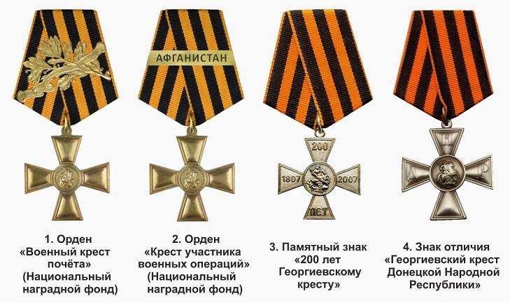 Георгиевский крест в Российской федерации