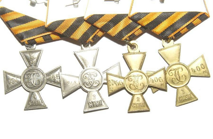 Утверждение дизайна Георгиевского креста