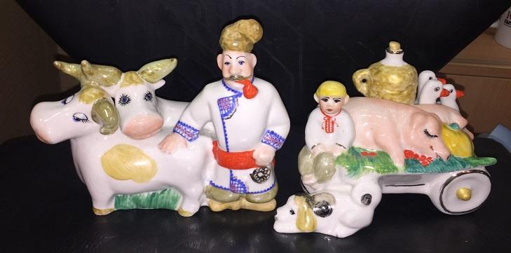 Декоративные статуэтки Коростенский фарфор