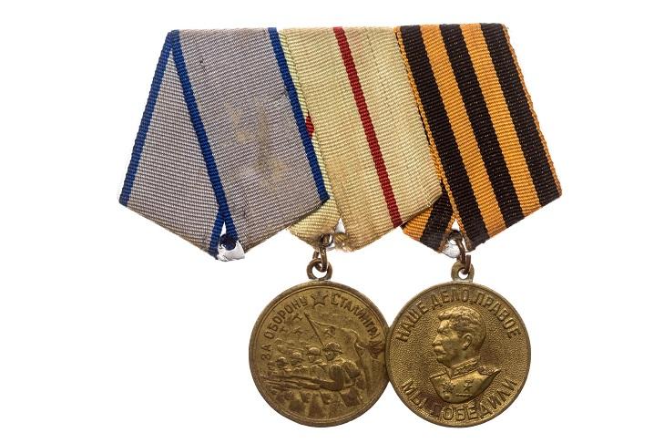 """Дизайн медали """"За победу над Германией"""""""