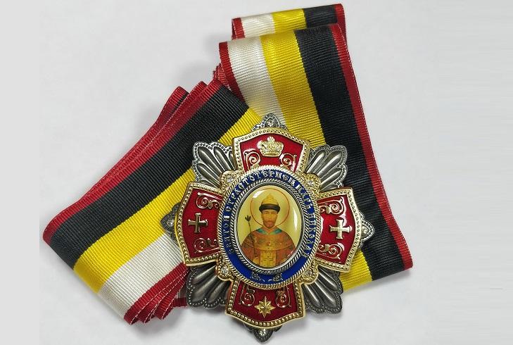 Описание ордена Святой страстотерпец царь Николай