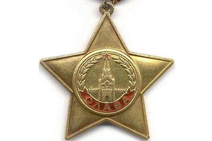 Орден Славы крупным планом