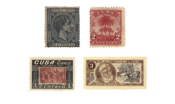 Кубинские почтовые марки