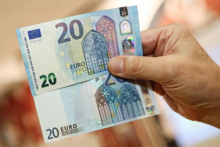 Обновленные банкноты евро