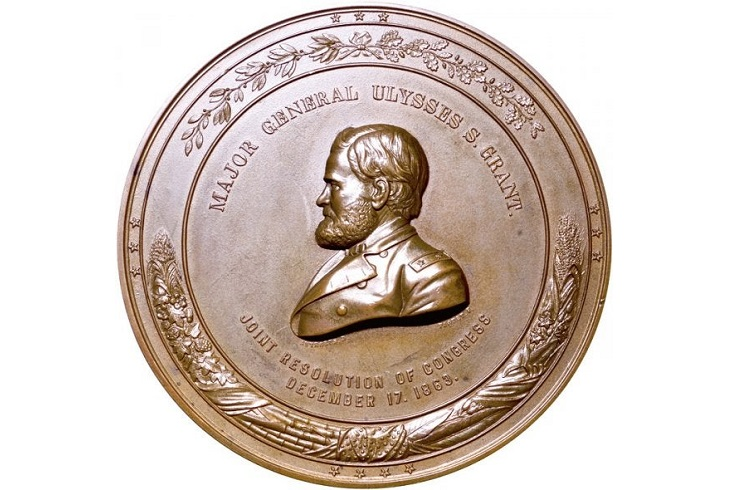 Медаль Конгресса генерала-майора Гранта