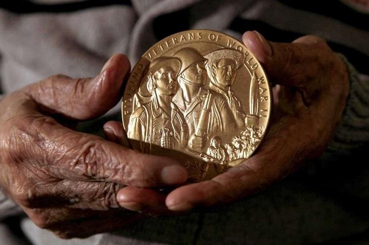 Порядок вручение медали Конгресса