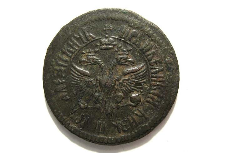 Медные деньги 1700 года