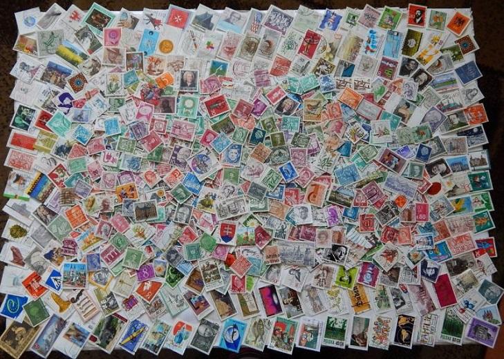 Обмен почтовыми марками