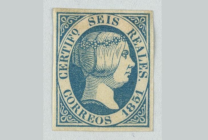 Второй выпуск испанских почтовых марок