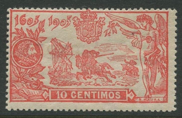 Испанские марки к 300-летию Дон Кихота
