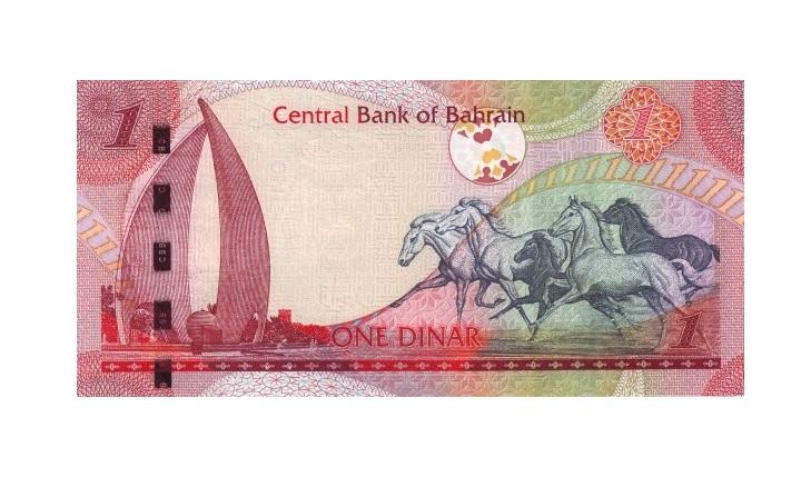 1 бахрейнский динар