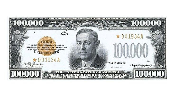 100000 долларов