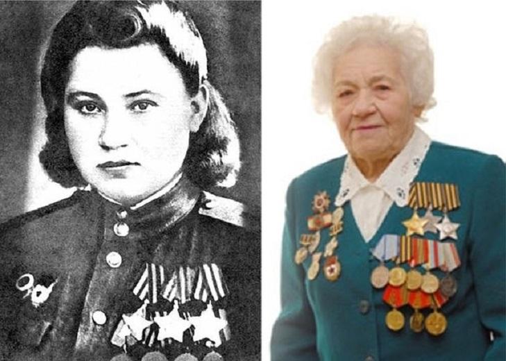 Кавалер ордена Славы Матрена Нечепорчукова
