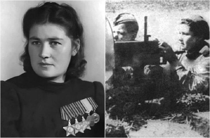 Кавалер ордена Славы Дануте Станилиене