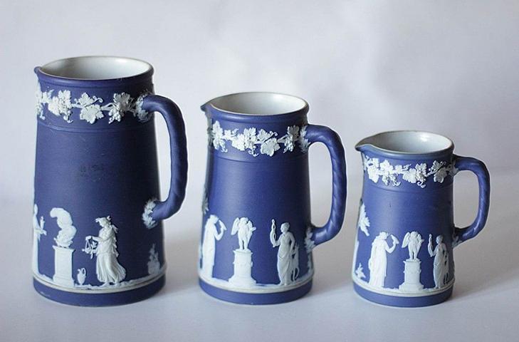 Кувшины Фарфор WEDGWOOD (Веджвуд) Англия, XIX век